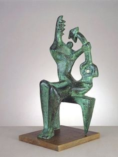 Henry Moore >> Mother and Child