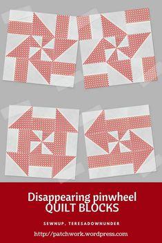 Video tutorial: Disappearing pinwheel quilt blocks