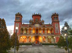 Palacio de Larrinaga. Con una bonita historia de amor detrás.