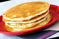 Looking for the best pancake recipe ever? Pancakes from scratch that are fluffy and tasty? Try these easy eggless pancakes served with honey or maple syrup.#Pancake #Recipe #Pancakes #Eggless Pancake Recipe No Eggs 44+ Eggless Pancakes ~ Best Pancake | Pancake Recipe No Eggs | 2020 Best Pancake Recipe Ever, Pancakes From Scratch, Greek Yogurt, Maple Syrup, Eggs, Tasty, Baking, Honey, Breakfast