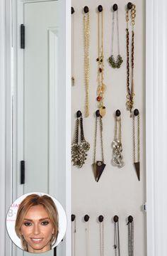 Giuliana Rancic: Necklace Closet