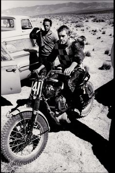 McQueen – most likely in the Mojave Desert.