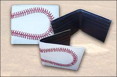 Baseball Stitches Wallet    EverythingBaseballCatalog.com