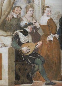 La danse, 1565 Giovanni Antonio Fasolo Détail