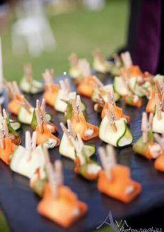 Superbe présentation à faire avec des légumes crus... ...