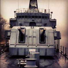 The USS ORLECK #visitlakecharles #Louisiana #lakecharles #ship #worldwar2 #guns - @josh_johnson25- #webstagram