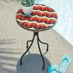 SONOMA outdoors™ Mosaic End Table