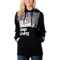 Glamour Kills Keep Breathing  Pullover Hoodie ~ I really... Really want this