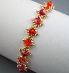 Fire Opal I Bracelet by arosebyname