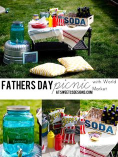 Fathers Day Picnic with World Market! - Sweet C's Designs