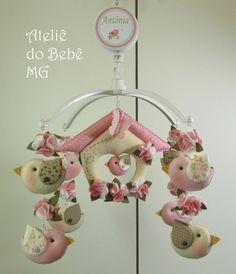 Ateliê do Bebê MG: Decoração Passarinhos