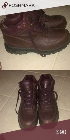 pretty nice 817ee 27a32 Nike ACG boots size 10.5 Only worn twice. Nike Shoes Boots Nike Acg Boots,