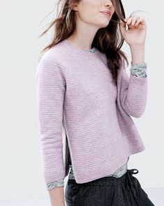 J.Crew lavender sweater: http://www.shopstyle.com/action/loadRetailerProductPage?id=459411244&pid=uid5321-6516611-32