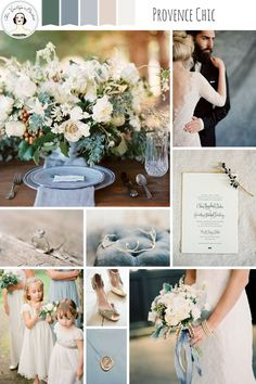 Provence Chic – Romantic Wedding Inspiration in a Palette Inspired by Provence