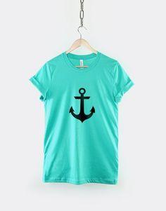 Fancy | Anchor Nautical Mermaid T-Shirt