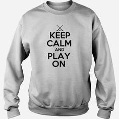 Keep Calm and Play On, Field #Hockey, Order HERE ==> https://www.sunfrog.com/Sports/123796804-686680897.html?8273, Please tag & share with your friends who would love it , #superbowl #xmasgifts #christmasgifts  #hockey lovers life, hockey nhl, hockey quotes  #family #legging #shirts #tshirts #ideas #popular #everything #videos #shop