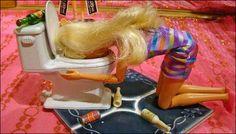 Poor Barbie...