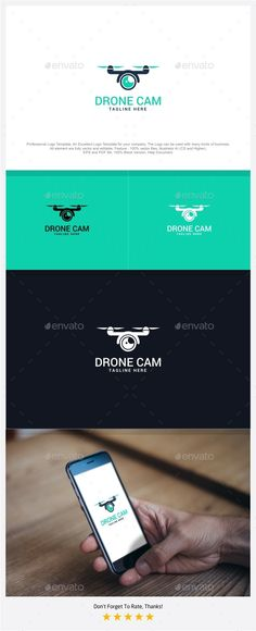 Drone Cam - Aero Vision Logo - Symbols Logo Templates