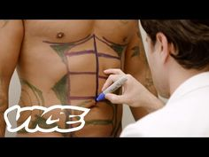"VICE follows two men getting cosmetic surgery. One who is getting liposuction on his abdominal area to get the six-pack he always wanted. The other visits The Club House, a ""man-cave"" in Manhattan dedicated to male plastic surgery. Although male … > Click Here Fitness Nutrition, Diet And Nutrition, Men Abs, Cool Sculpting, Six Pack Abs, Diet Motivation, Plastic Surgery"