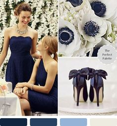Top 10 Wedding Colors for Fall 2014 - #7: Navy Blue!