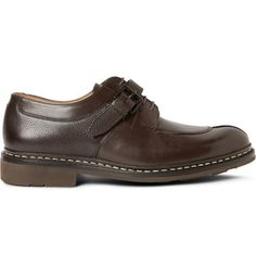 Heschung Carrya Panelled Leather Derby Shoes | MR PORTER