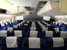 Northwest Airlines DC10 forward coach section