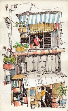 Resultado de imagem para sketchbook vietnam