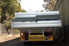 A truckload of modular chassis steel floor frames leaving our factory near Mittagong NSW. Floor Framing, Beams, Flooring, Steel, Design, Wood Flooring, Steel Grades, Floor