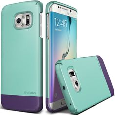 Amazon.com: Galaxy S6 Edge Case, Verus [Two Tone Slide] Samsung Galaxy S6 Edge Case [2Link][Sugar Pink] Extra Slim Fit Dual Slider Vibrant Case - Verizon, AT&T, Sprint, T-Mobile, International, and Unlocked - Cover for Samsung Galaxy S6 Edge 2015 Model: Cell Phones & Accessories