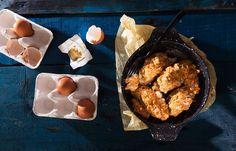 Καγιανάς με απάκι Muffin, Brunch, Breakfast, Food, Morning Coffee, Eten, Cupcakes, Muffins, Meals