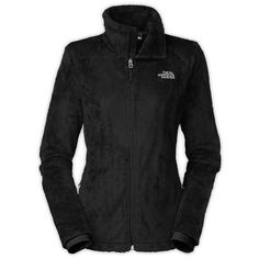 The North Face Women's Osito 2 Jacket ($99) ❤ liked on Polyvore featuring outerwear, jackets, tops, black, black fleece jacket, the north face, tailored jacket, black jacket and the north face jackets