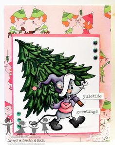 For the Love of Cardmaking: Send a Smile 4 Kids- Early Holiday wishes