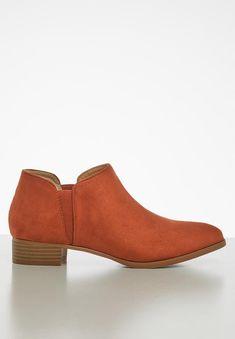 Ankle bootie - orange Jada Boots | Superbalist.com Jada, Ankle Booties, Heeled Mules, Two By Two, Footwear, Booty, Orange, Heels, How To Wear