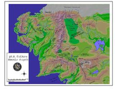 Middle-earth Map - Unknown