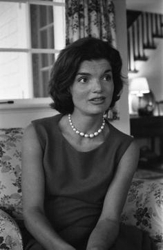 Jackie Kennedy in 1960.    From Alfred Eisenstaedt—Time & Life Pictures/Getty Images
