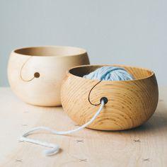 Wood Yarn Bowl