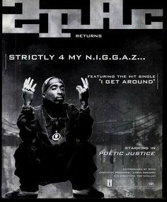 2pac - Strictly 4 My N.I.G.G.A.Z. (Vibe September 1993)