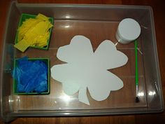 St. Patrick's Day learning activities and free printables for kids.
