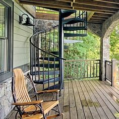 Spiral stairs from Paragon Stairs are available in prefab & custom configurations to fit any need. Spiral Staircase For Sale, Spiral Staircase Outdoor, Modern Staircase, Staircase Design, Spiral Staircases, Staircase Ideas, Stair Kits, Futuristic Home, Tree House Designs