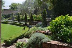 The French garden in Johannesburg, Landscaped By Juanita Knox find me at www.horticare.co.za
