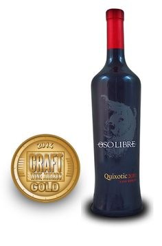 Craft Wine Awards 2014 | Oso Libre Quixotic Cabernet Sauvignon 2010