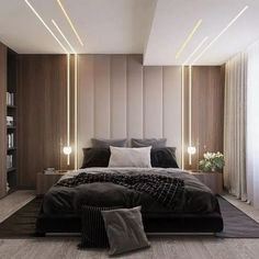 32 Fabulous Modern Minimalist Bedroom You Have To See - Everywhere you look you . 32 Fabulous Modern Minimalist Bedroom You Have To See – Everywhere you look you find things are b House Ceiling Design, Ceiling Design Living Room, Bedroom False Ceiling Design, Luxury Bedroom Design, Master Bedroom Design, Interior Design, Bedroom Designs, Luxury Master Bedroom, Modern Ceiling Design