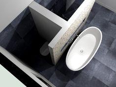 Badkamer indeling voorbeeld / De | Toilet, House and Interiors