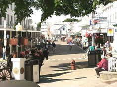 Mackinac Island Michigan  - One of my favorite places - No motorized vehicles - Bicycles and Horses Only!!!