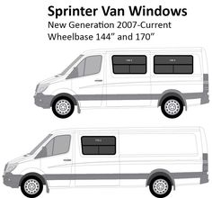 Mercedes Sprinter Conversion Camper Van After Market Windows Free Shipping Sprinterstore  C2 B7 Camionfourgon Amenagereamenagement