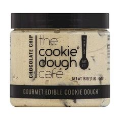 The Cookie Dough Cafe Gourmet Edible Cookie Dough, Chocolate Chip, 16... ($172) ❤ liked on Polyvore featuring filler