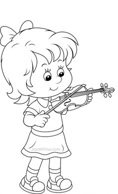 Back to School Coloring Pages - Sarah Titus School Coloring Pages, Disney Coloring Pages, Colouring Pages, Coloring Pages For Kids, Coloring Sheets, Coloring Books, Kids Coloring, Cartoon Pics, Cartoon Drawings