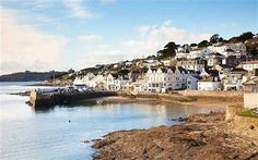 St Mawes, which is at the start of the Roseland Peninsula