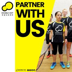 Partner with us to help grow squash and help us get people active and enjoying squash, while supporting your business! We partner with various people, clubs, companies, businesses, brands, and organisations to help grow squash and our programme while providing value back to our partners. We deliver squash services to thousands of people each year through our club, school, and community programmes. - Please get in touch for further details on how we could work together… Train Group, Double Dot, Red Beach, Ways Of Learning, Core Values, Best Player, Looking Forward To Seeing, Total Body, How To Introduce Yourself