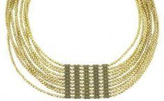 Lovely gold necklace!